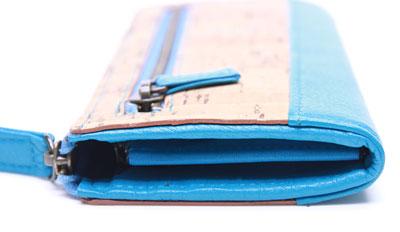 コルクの財布を更新