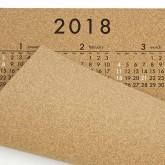 2018年コルクカレンダー