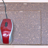 ナチュラル色 マウスパッド S・M サイズ